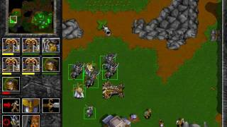 Warcraft 2: Tides of Darkness - Human Campaign Gameplay - Mission 8