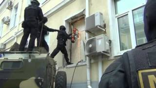 Russian special police SPETSNAZ vs Armored Building   Tactical Action