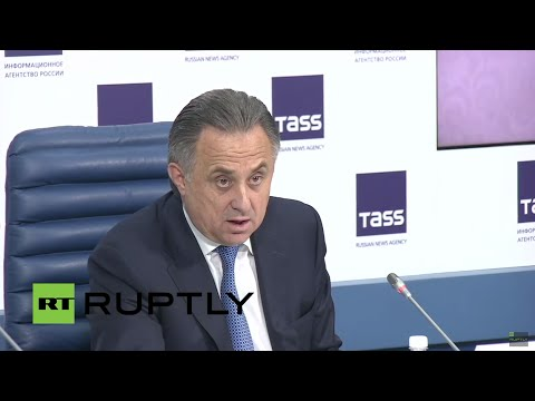 LIVE: Vitali Mutko to give press conference on 2018 FIFA World Cup