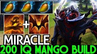 Miracle- [Shadow Fiend] 200 IQ Mango Build Against Morphling Mid 7.21 Dota 2