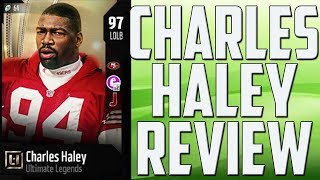 How Good is 97 Overall Charles Haley? MUT 18 Ultimate Legend Card Review