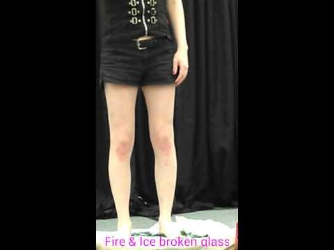 040414 Fire & Ice: Barefoot Broken Glass