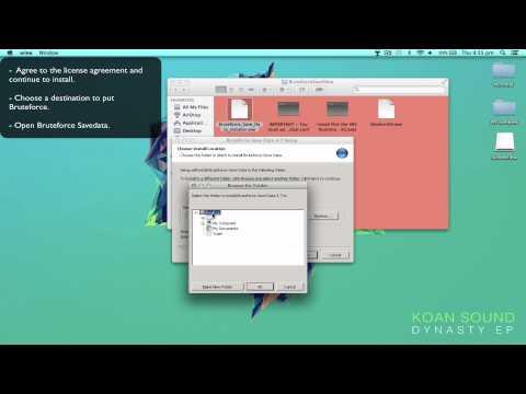 Bruteforce Savedata for Mac