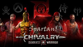 Chivalry Deadliest Warrior! Spartan Gameplay!