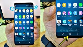 Samsung Galaxy S8 - 3D TOUCH HOME BUTTON!!!!