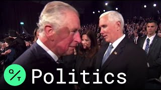 Did Prince Charles Snub Mike Pence at Auschwitz Memorial?