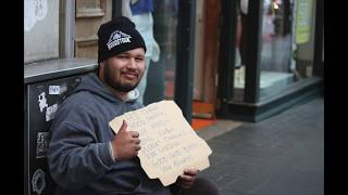 Homeless people interviews + photos