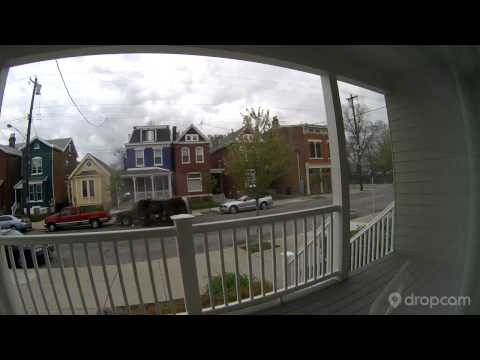Caught on Dropcam: Car flip in Cincinnati