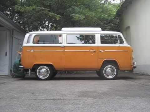 VW T2 Bay Window Campmobile & Monroe Ride-Leveler