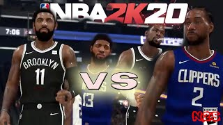 Los Angeles Clippers vs Brooklyn Nets - FULL GAME | NBA 2k20