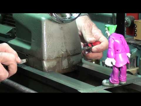 MACHINE SHOP TIPS #99 Aligning Lathe Centers TEST BAR METHOD tubalcain