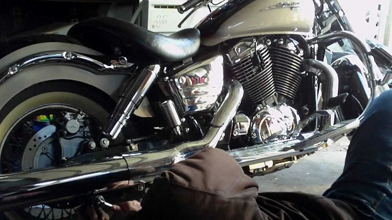 Yamaha Virago Head Gasket Replacement
