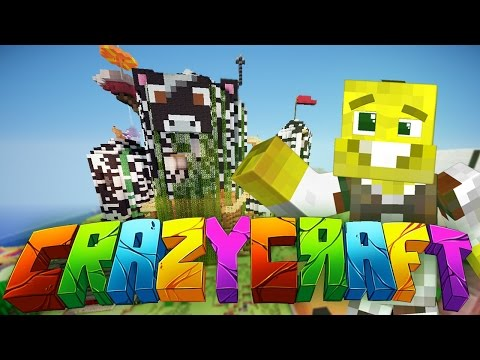 WHAT HAPPENED TO MY HOUSE?   CrazyCraft 3.0 Ep.46