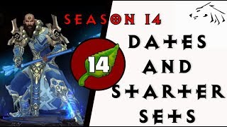 Diablo 3 Season 14 Start Dates and Haedrig's Gift Starter Sets