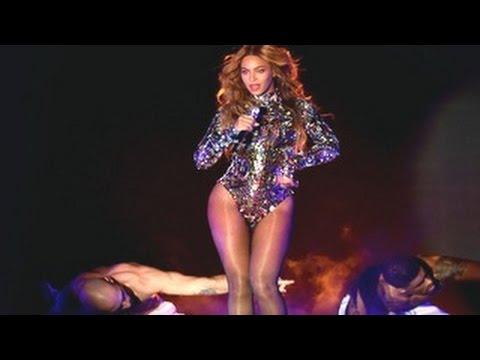 Beyonce MTV VMA 2014 Performance Was Stunning – MTV Video Music Awards 2014