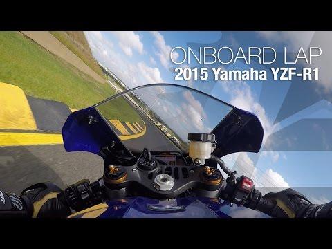 2015 Yamaha YZF-R1 Onboard Lap: Sydney Motorsports Park - MotoUSA