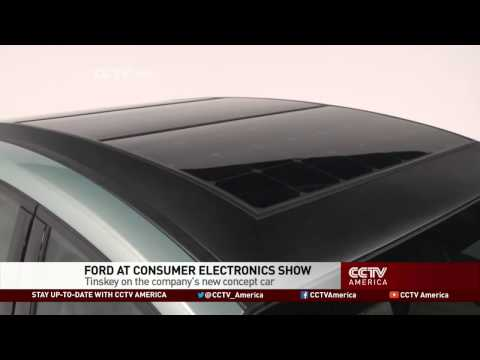 Ford Debuts Solar Powered Car at CES 2014