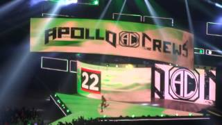 Apollo Crews en el Rumble 2017