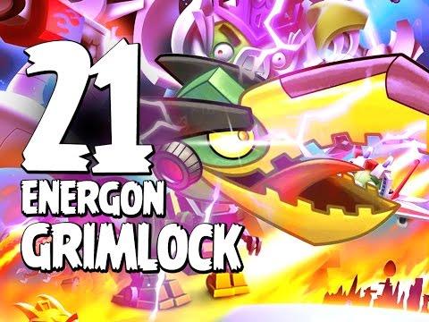Angry Birds Transformers - Gameplay Walkthrough Part 21 - Energon Grimlock Unlocked