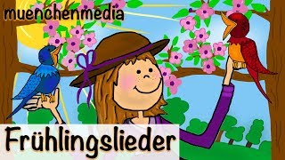 Kinderlieder deutsch - Frühlingslieder Video Mix
