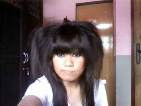 Lion Hair Tutorial Hair Emo Hair Tutorial