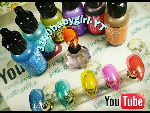How To: GLASS JELLY NAILS