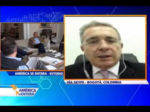 Álvaro Uribe habla sobre secuestro del General Alzate por parte de las FARC