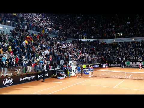 Internazionali Tennis Roma 2014: Nadal vs Murray match point