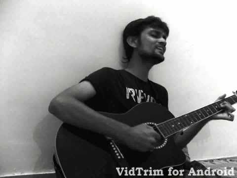 Tune mere jaana hindi version Guitar cover by Rachit kothari