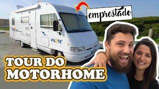 TOUR DO MOTORHOME / AUTOCARAVANA EMPRESTADO   Vidicar