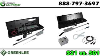 Greenlee 521a or 501 tracker 2