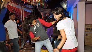 पहाड़ी डी0जे0 पार्टी में जबरदस्त डांस | Pahari DJ Party Night | Mahila Sangeet Function