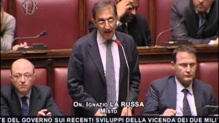 Marò: Intervento dell
