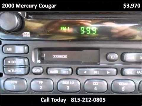 2000 Mercury Cougar Used Cars New Lenox IL
