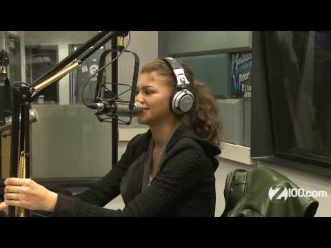 Val Chmerkovskiy Pranks Zendaya on Z100 Radio 2/12/14