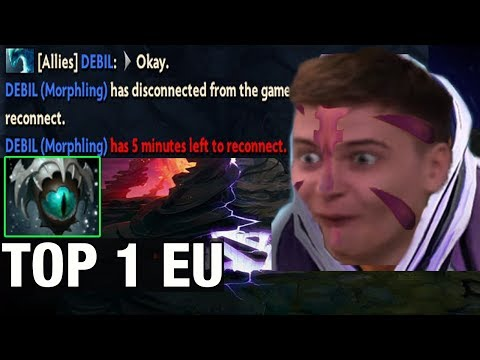 RAMZES666 TOP 1 EU Plays a Ranked With Anti-Mage With Skadi 19/1 - Dota 2
