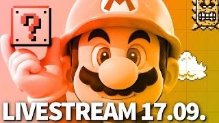 Super Mario Maker & eure Levels! - Livestream-Aufzeichnung vom 17.09. - Hooked
