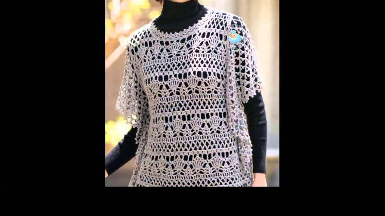 crochet sweater free patterns - YouTube