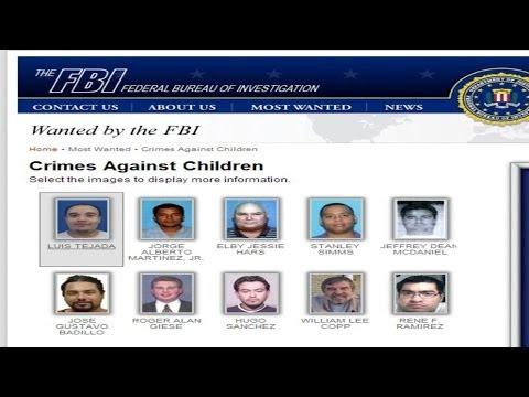 Estos son algunos de los depredadores sexuales hispanos más buscados ...