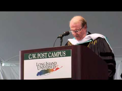 CW Post Campus of Long Island University Commencement Address 2010 Video