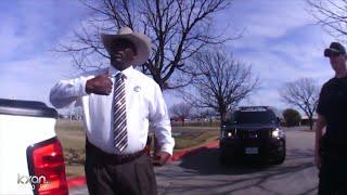 Texas Ranger pulls gun on driver who flipped him off