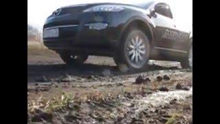 Тест-драйв Mazda CX9 в Тюмени. Гонки, горки и заезд в гараж