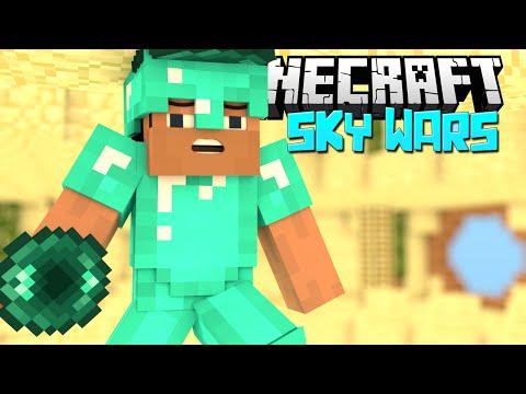 ВРЕЗАЛСЯ В ПОТОЛОК - Minecraft Скай Варс (Mini-Game)