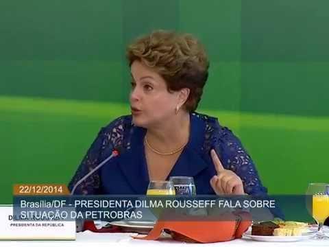 Dilma Rousseff participa de café da manhã com jornalistas