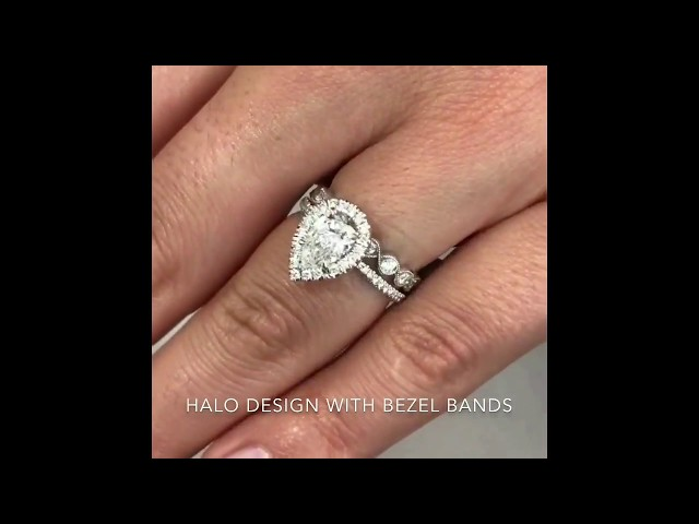 Wedding Band Style Guide Pairing Your Halo Ring