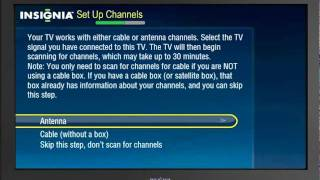 Setting Up Your New TV | Insignia Connected TV