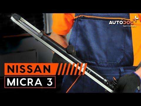 Como trocar amortecedores traseiros NISSAN MICRA 3 TUTORIAL   AUTODOC