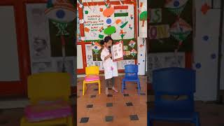 Firstep Preschool Indralok Fancy Dress Competition Ms Aaradhaya Das