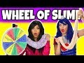 MYSTERY WHEEL OF SLIME CHALLENGE. (Totally TV)