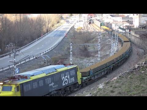 Trenes en Pajares 2010 / Trains in Pajares pass